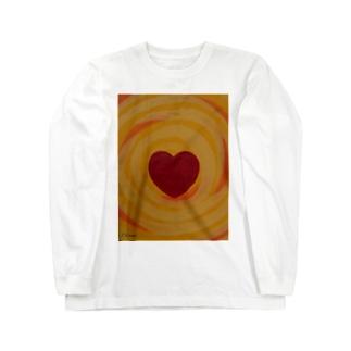 燦々ハート Long sleeve T-shirts