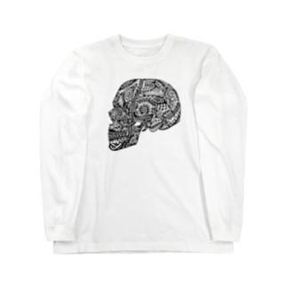 髑髏 Long sleeve T-shirts