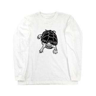 クサガメ Smiley Boggie Long sleeve T-shirts