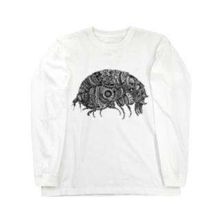 横蝦 Long sleeve T-shirts