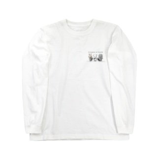 ウサパンゾウ Long sleeve T-shirts
