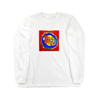 獅子神 Long sleeve T-shirts