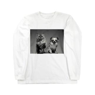 🐾ララ&ルカ Long sleeve T-shirts