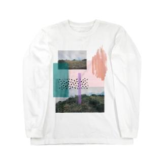 丘のてっぺん Long sleeve T-shirts