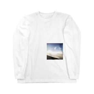 フジサンニノボッタトキニトッタシャシン Long sleeve T-shirts