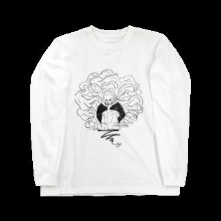 マグダラのヒカル@堕天使垢のランプの魔人 Long sleeve T-shirts