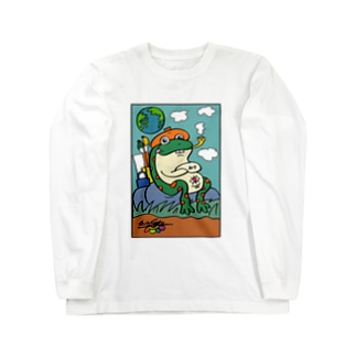 井の中の蛙  Long sleeve T-shirts