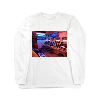レトロマティック遊戯 Long sleeve T-shirts