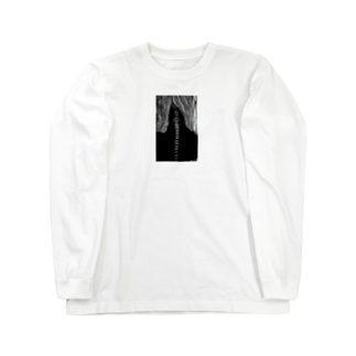 さかなや実験室の【肴】無喃 Long sleeve T-shirts