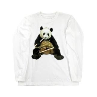 少女子パンダ Long sleeve T-shirts