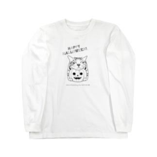 あごのせハロウィンたまき Long sleeve T-shirts