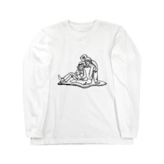 ジェンヌand Jackson and Bubbles Long sleeve T-shirts