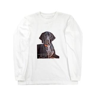 くぅちゃん[第1弾] Long sleeve T-shirts