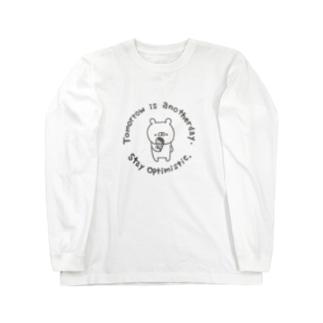 くまやん。アイスロンt Long sleeve T-shirts