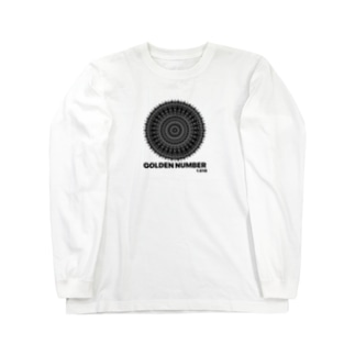 GOLDEN NUMBER Long sleeve T-shirts