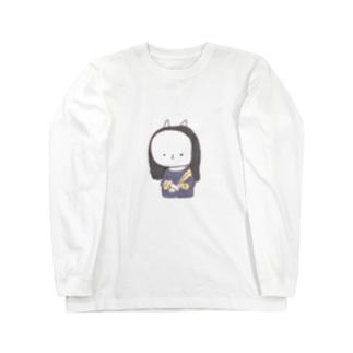 もにゃリザ Long sleeve T-shirts