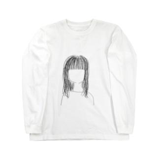 寝起きちゃん Long sleeve T-shirts