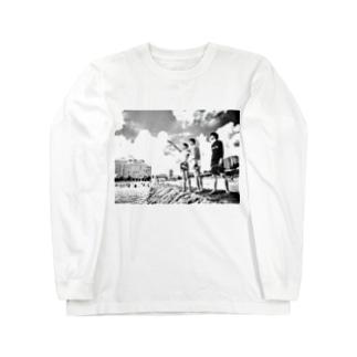 ルックスがいい兄達 Long sleeve T-shirts