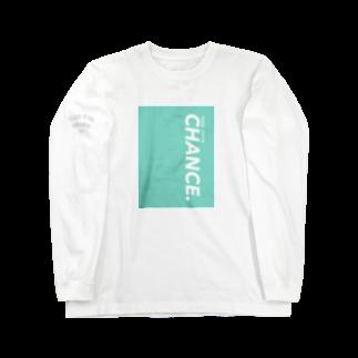 TYC☺︎(Take Your Chance!)のシンプルカラーTYCロゴ Long sleeve T-shirts