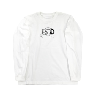 ジャコウネコ Long sleeve T-shirts