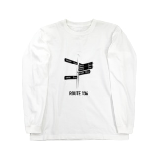 ROUTE 136 Long sleeve T-shirts
