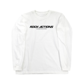 ROCK ACTIONS logo series 1 Long sleeve T-shirts