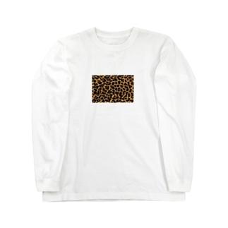 hyo-gara_yellow Long sleeve T-shirts