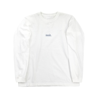 nuit. Long sleeve T-shirts