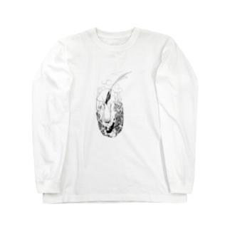 赤い蝋燭と人魚1 Long sleeve T-shirts