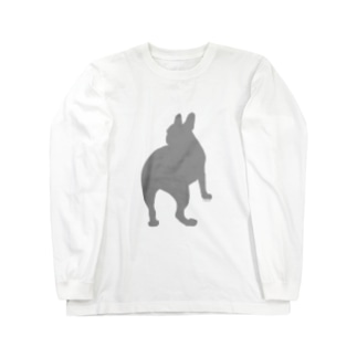 フレンチブルまさお Long sleeve T-shirts