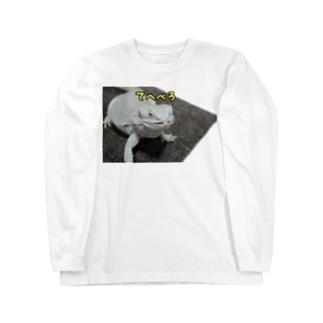 だいふくさん てへぺろ Long sleeve T-shirts