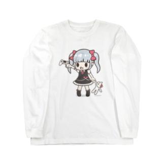 ゲームみこと Long sleeve T-shirts