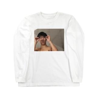なかじ(ん)グッズ Long sleeve T-shirts