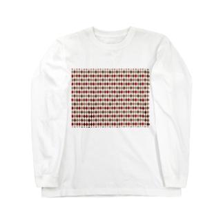 菱形 Long sleeve T-shirts