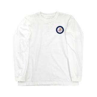 ぱんちゃ アイコンver. Long sleeve T-shirts