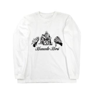 Memento Mori pieta Long sleeve T-shirts