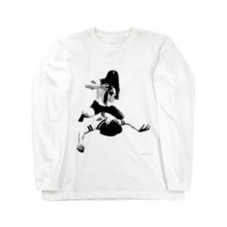 欲望JK Long sleeve T-shirts
