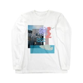 かっこいいテトラポット Long sleeve T-shirts