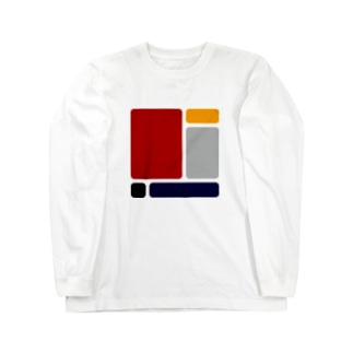 hitokoto-kotoba_composition_01 Long sleeve T-shirts