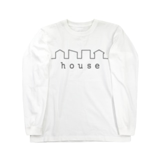 hitokoto-kotoba_house Long sleeve T-shirts