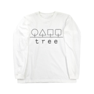 hitokoto-kotoba_tree Long sleeve T-shirts