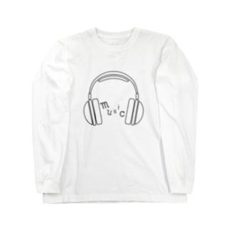 hitokoto-kotoba_music Long sleeve T-shirts