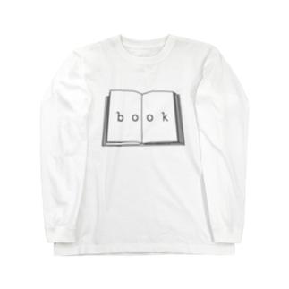 hitokoto-kotoba_book Long sleeve T-shirts