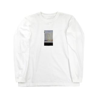 ボタンフラワートート Long sleeve T-shirts