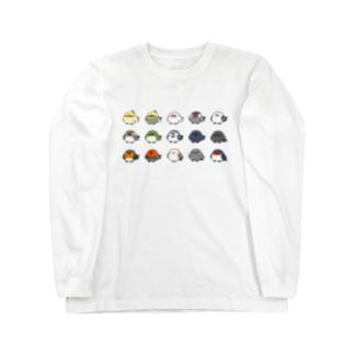 ことりシリーズ Long sleeve T-shirts