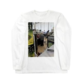 隠し撮り祖母t Long sleeve T-shirts