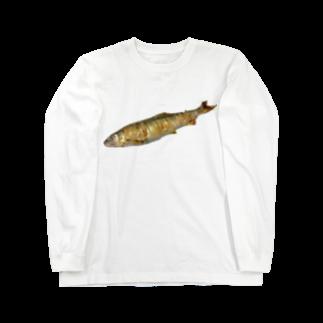 p53NMRの長良川の鮎 Long sleeve T-shirts