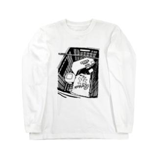 夏バテ Long sleeve T-shirts