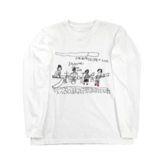 ユイゴイレブンのFALSETTOS IN KOREA Long sleeve T-shirts