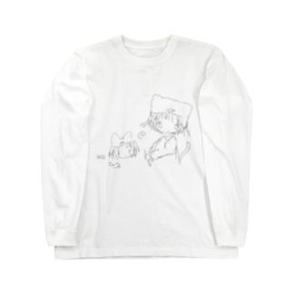 さばく日記 Long sleeve T-shirts